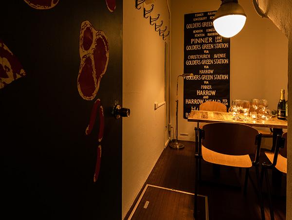 えッ!こんな所に部屋が!?壁の中に隠された【隠し扉個室】♪お忍びでの個室宴会に!